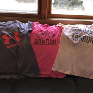 Women XS t-shirts.